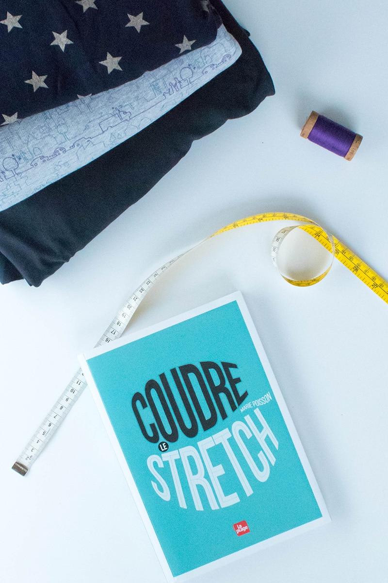 Coudre le stretch, la bible de la couture des matières extensibles!