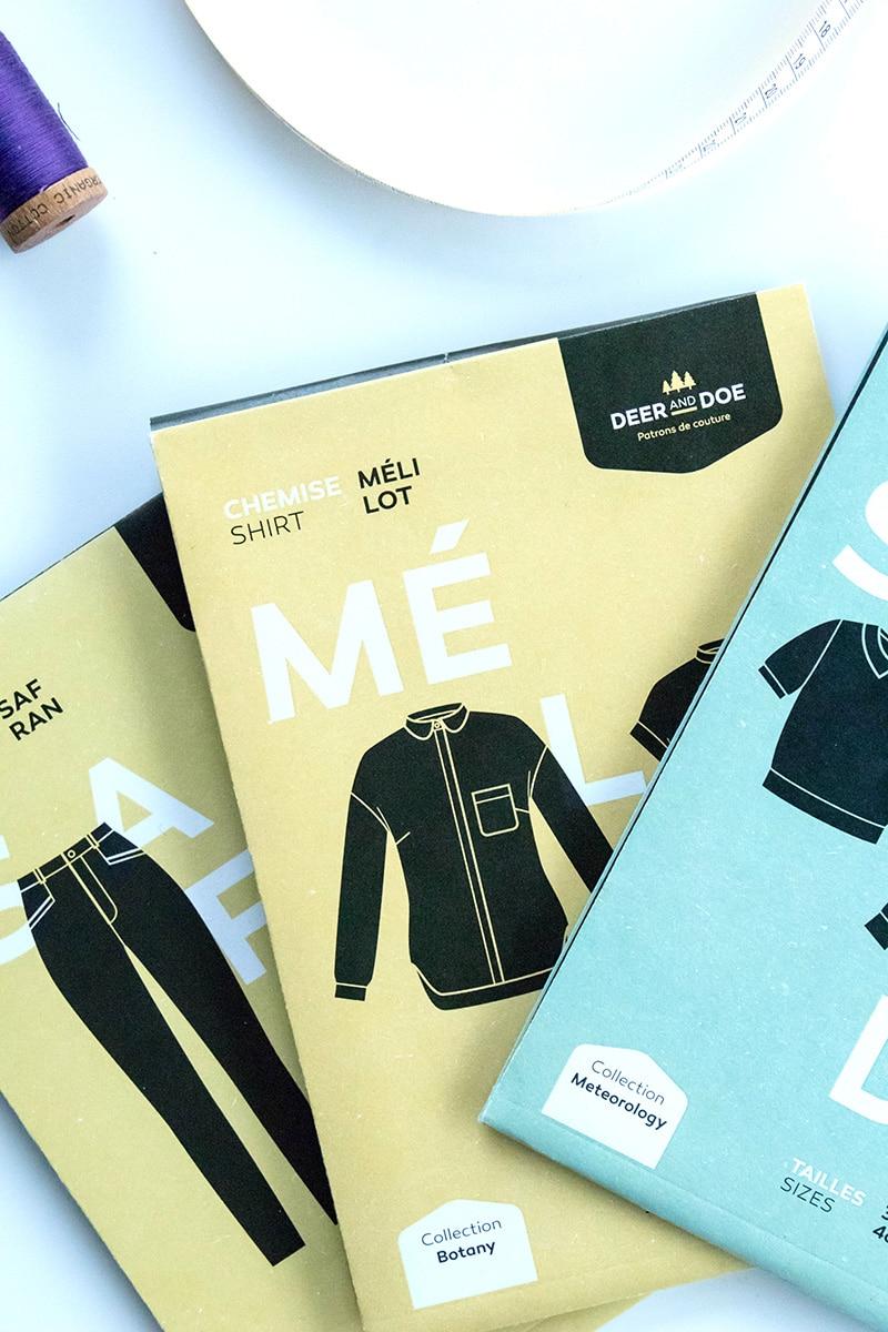 Couture responsable : je continue d'acheter des patrons à des créatrices - Avril sur un fil