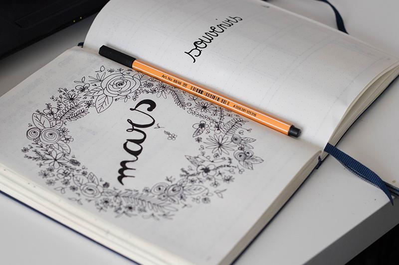 Commencer un bullet journal - Avril sur un fil