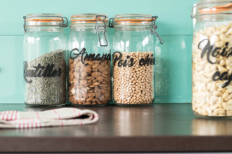 DIY : custo de tes bocaux de verre le parfait avec tes marqueurs posca !