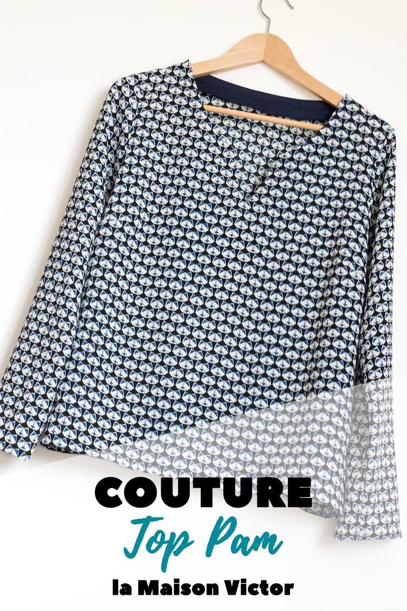 Couture : Top Pam de la maison victor 1/2016 - Avrilsurunfil