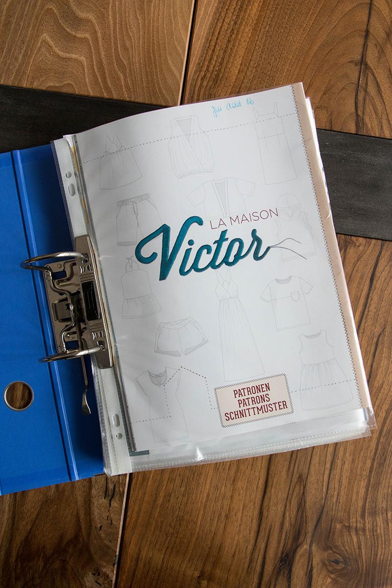 Patrons de couture à classer : magazine La Maison Victor