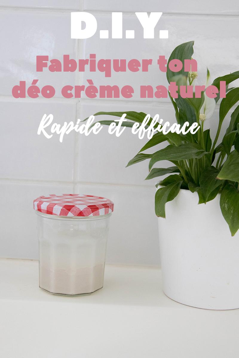 DIY rapide et efficace pour fabriquer ton déo crème naturel