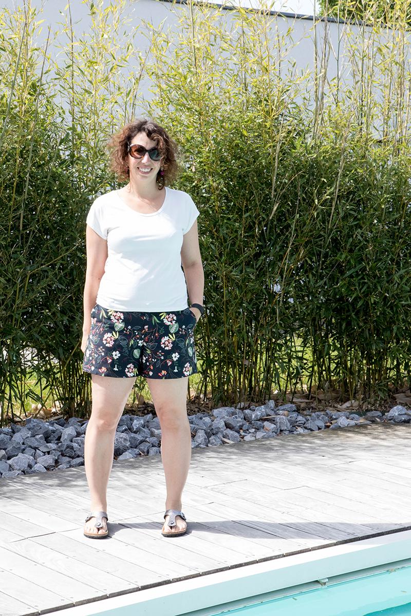 Couture : le short Chi Town Chinos dans ma garde robe capsule de mai