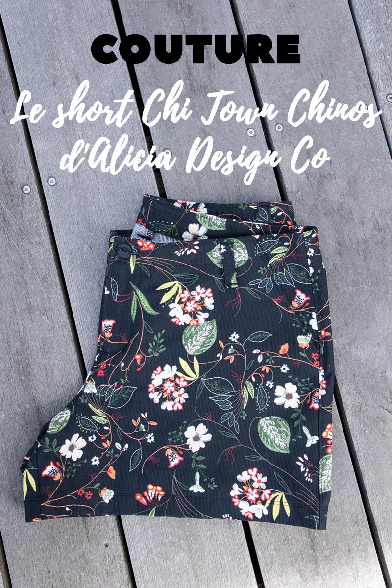 Le short Chi Town Chinos d'Alicia Design dans ma garde-robe capsule de mai