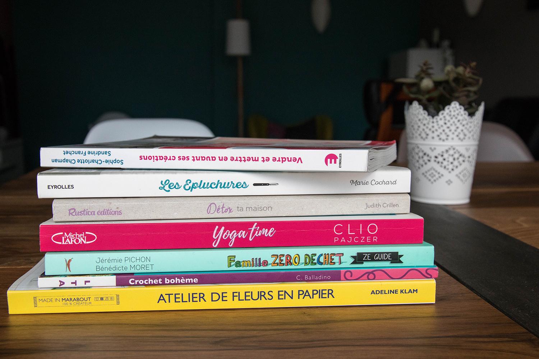 Ma bibliothèque pour une vie plus green et organisée