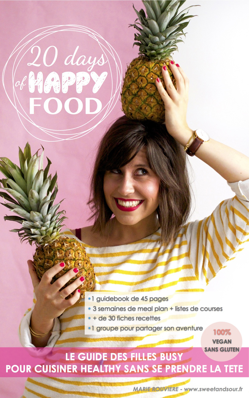 20 days of happy food de sweet and sour