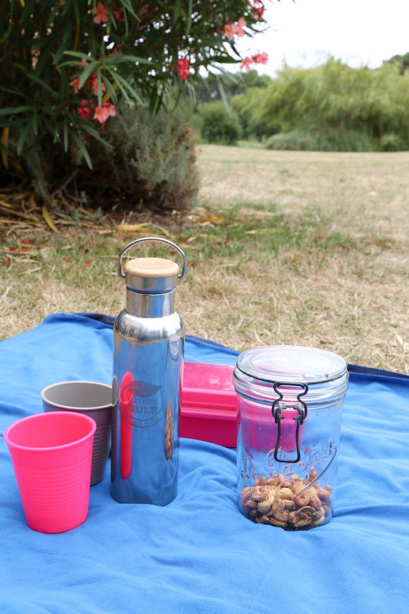 Des contenants réutilisables pour un été au green
