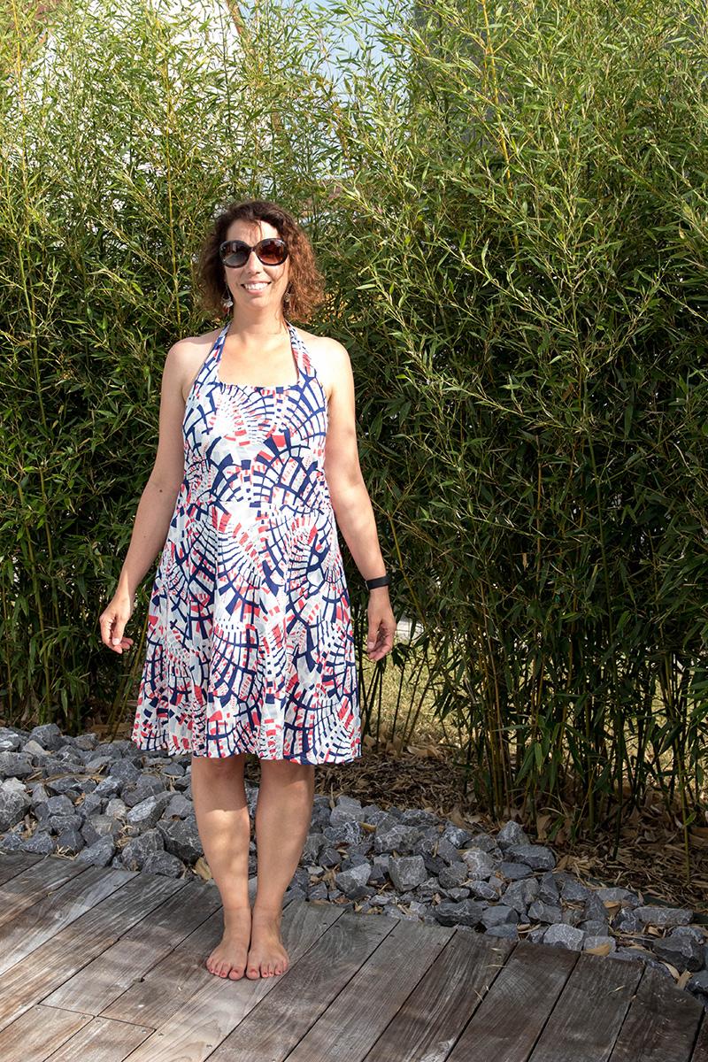 Couture : le patron basic one de ODV modifié en robe, je te dis tout !