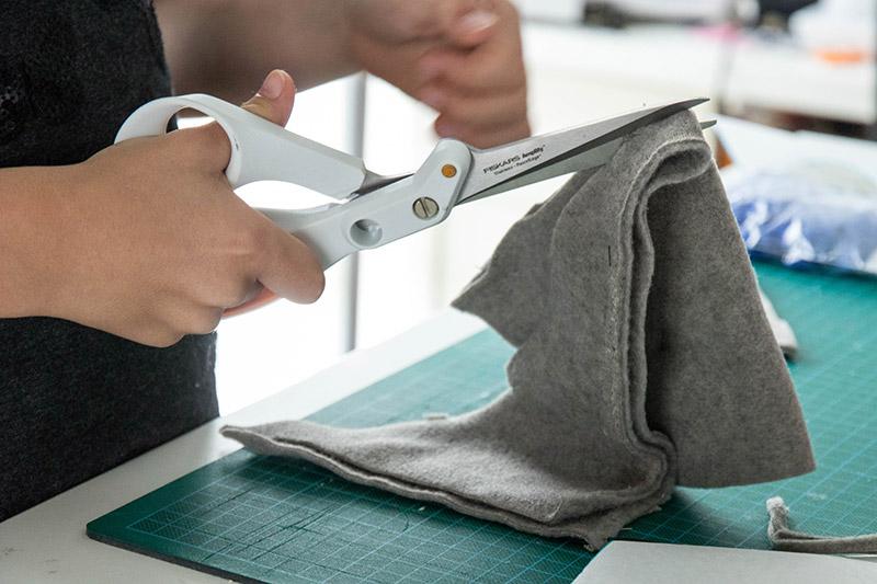 Projet de couture avec ma miniZ - Avril sur un fil