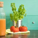 Gaspacho tomates basilic : recette express au thermomix - Avril sur un fil