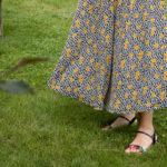 Une jupe longue pour le mois de juillet