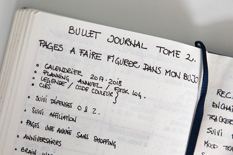 Reflexion sur le tome 2 de mon Bullet Journal / Avril sur un fil