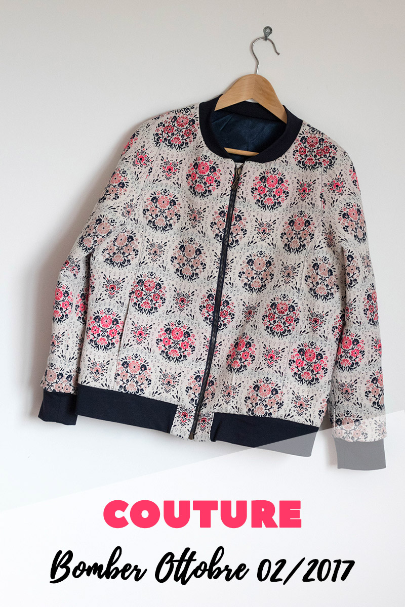Couture : Bomber jacket Ottobre 02/2017