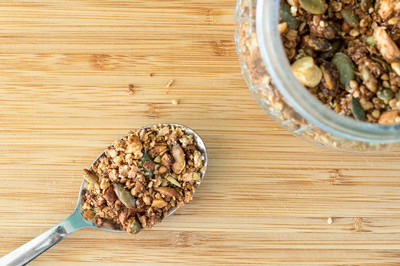 Granola salé, la recette à tester de toute urgence !