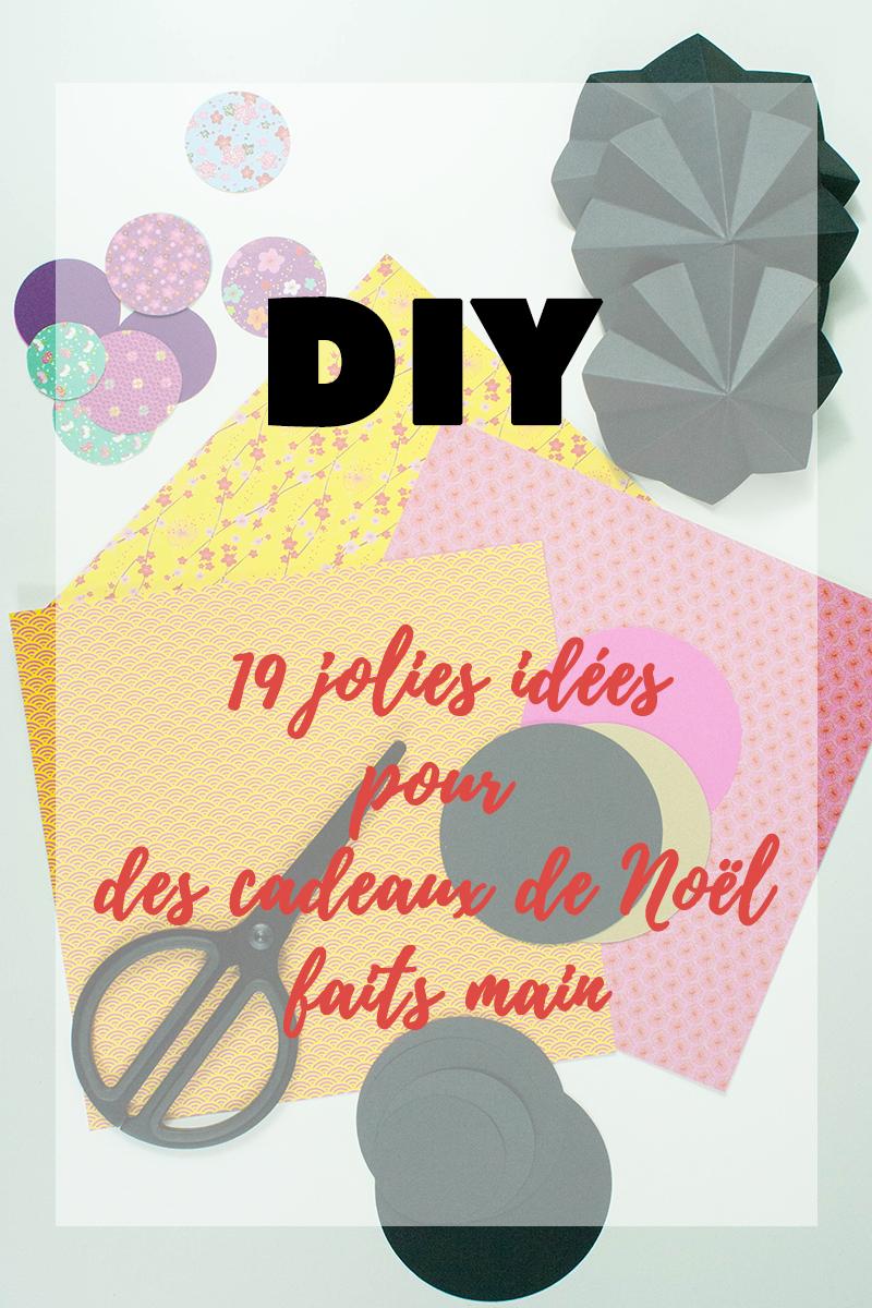 19 jolies idées DIY pour des cadeaux de Noël faits main - Avril sur un fil