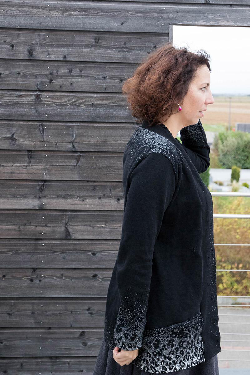 Gilet Cannelle - Avril sur un fil