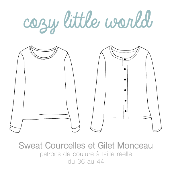 Le Gilet Monceau de Cozy Little World