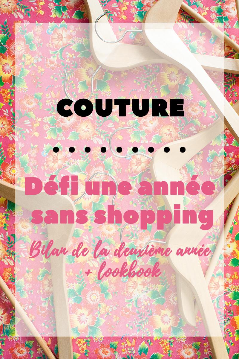 Couture : Défi une année sans shopping, bilan de la deuxième année et Lookbook - Avril sur un fil