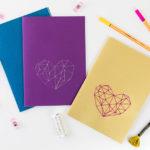 DIY : Fabrique ton carnet brodé