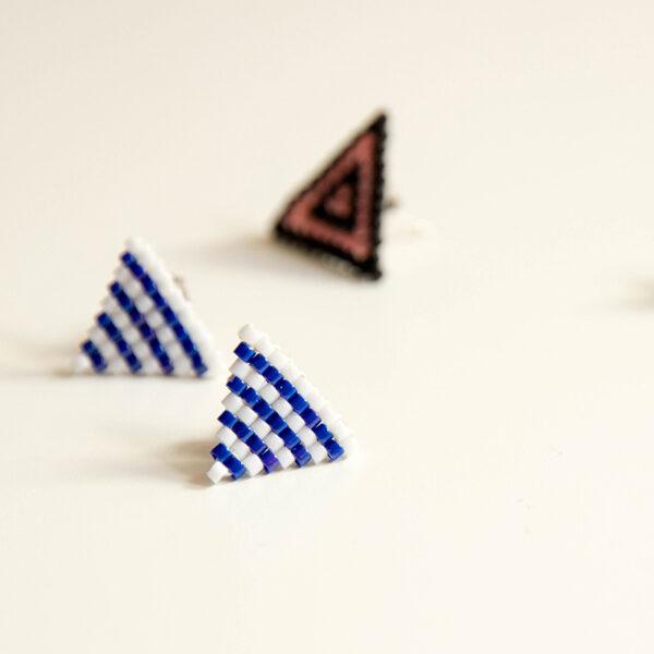 Atelier créatif DIY bijoux : Fabrique tes BO triangle en perles Miyuki - Wiwersheim, Alsace - 2h