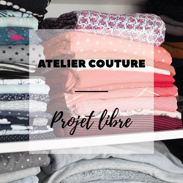 Atelier couture : projet libre à Wiwersheim (67). Viens avec ton projet de vêtement, je t'accompagne dans ton projet pendant 3h30 !
