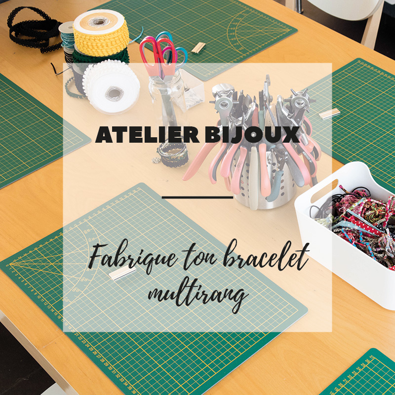 Atelier DIY bijoux autour de Strasbourg : Fabrique ton bracelet multirang - Avril sur un fil