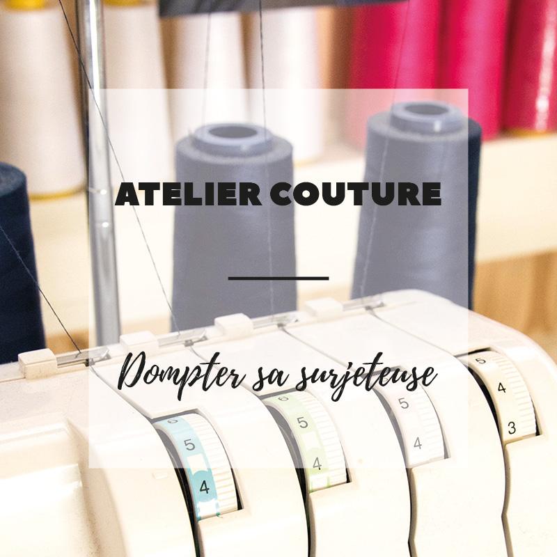 Atelier couture - dompter sa surjeteuse - Wiwersheim, Alsace - 3h30 - Avril sur un fil