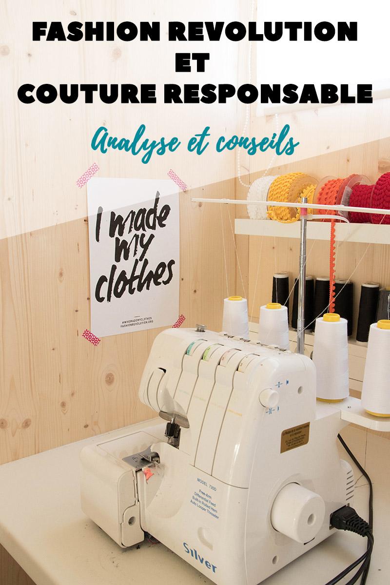 Où il est question de fashion revolution et couture responsable - Avril sur un fil