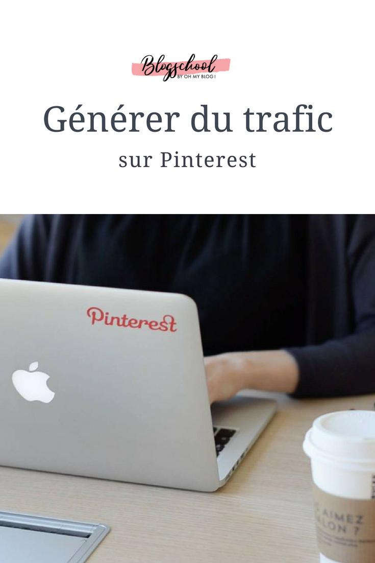 Formation blogschool : générer du trafic sur Pinterest
