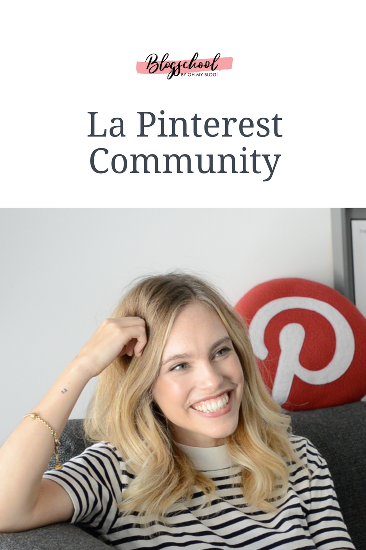 Formation blogschool : Pinterest community