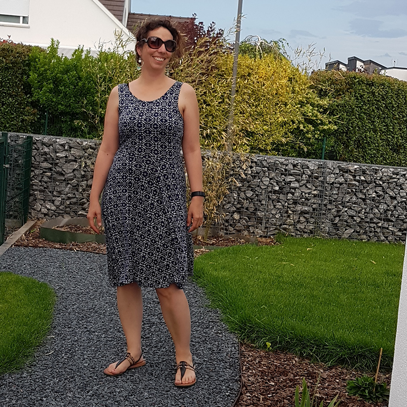 Me Made May 2018 - Jour 30 : Robe moneta de colette patterns - Avril sur un fil