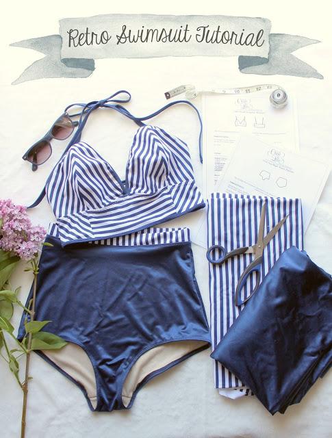 PAtrons de maillot de bain : Maillot rétro par Ohhh Lulu