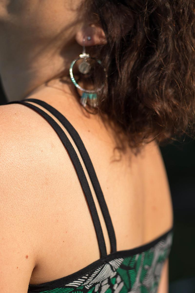 Bretelles dos de la robe centaurée de Deer and Doe - Avril sur un fil
