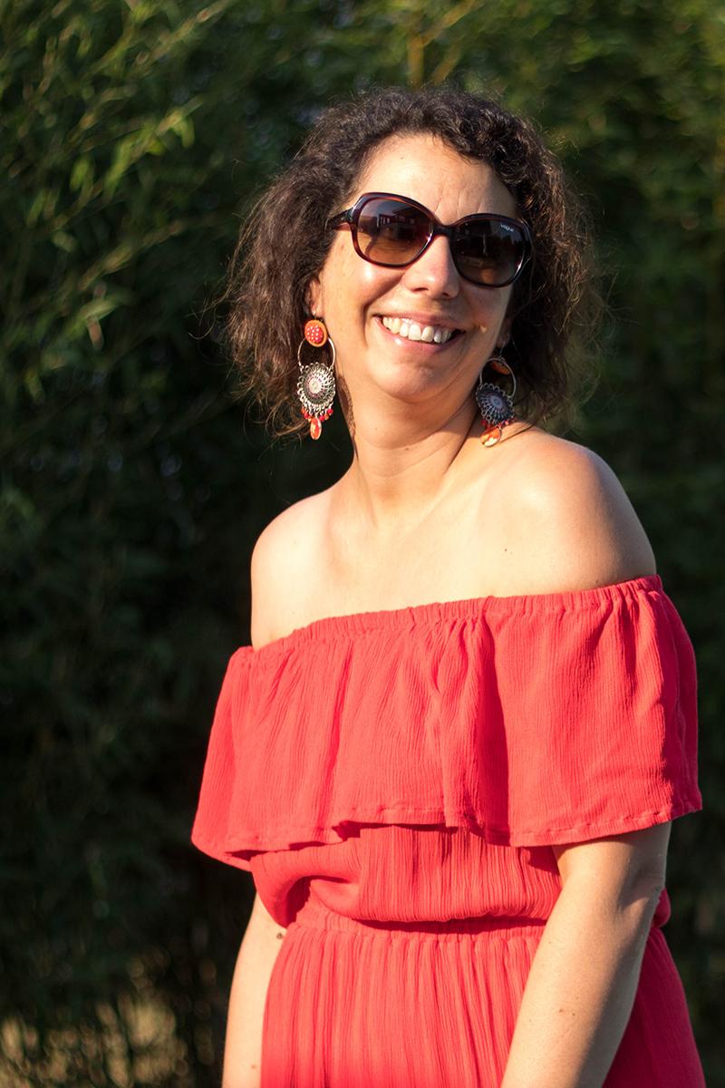 Couture : patron de la robe hippie de Vanessa Pouzet modifié - avrilsurunfil