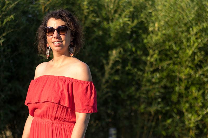 Couture : ma robe hippie de Vanessa Pouzet, comment je l'ai modifiée ? - Avril sur un fil