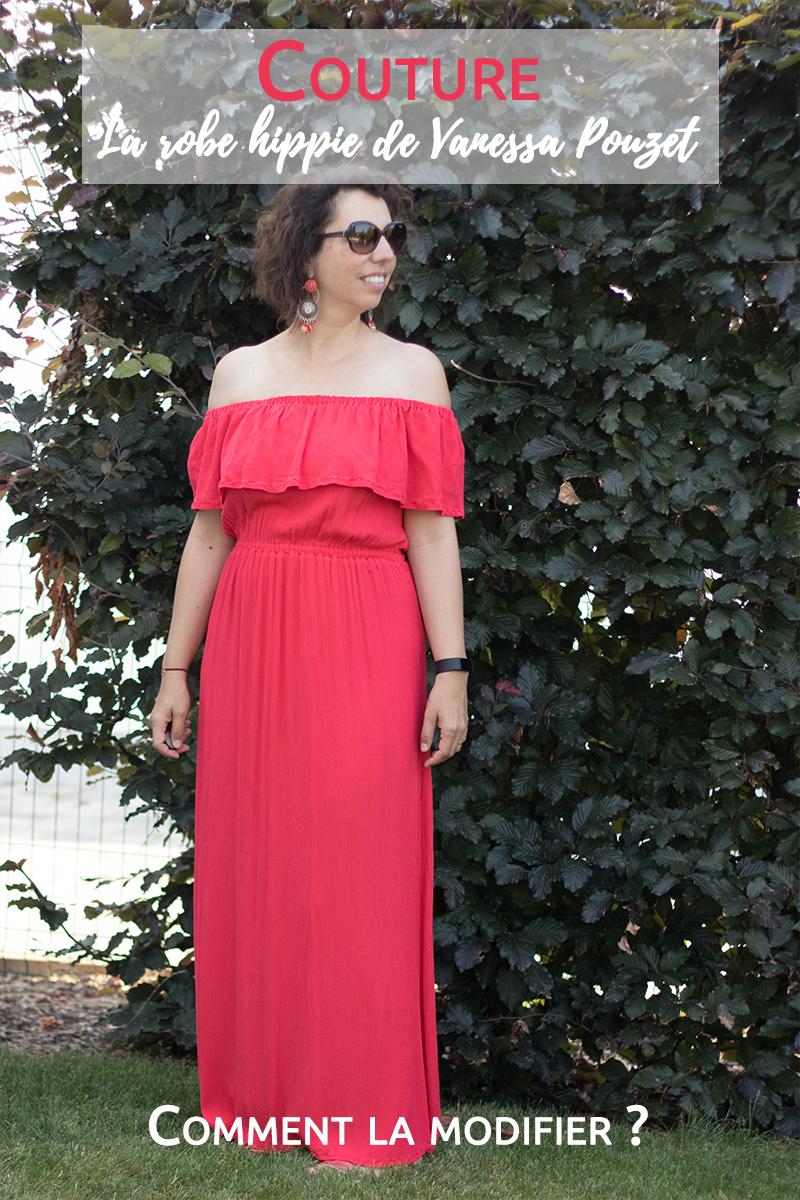 Couture : la robe hippie de Vanessa Pouzet, comment la modifier ?