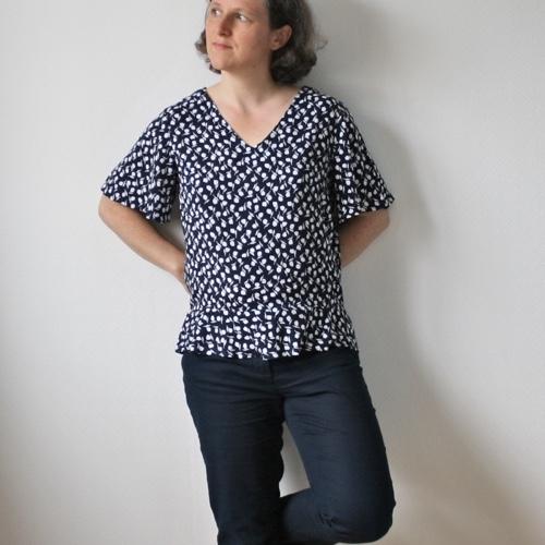 10 patrons gratuits pour coudre ta garde-robe d-été : Miss Flora de Gasparine