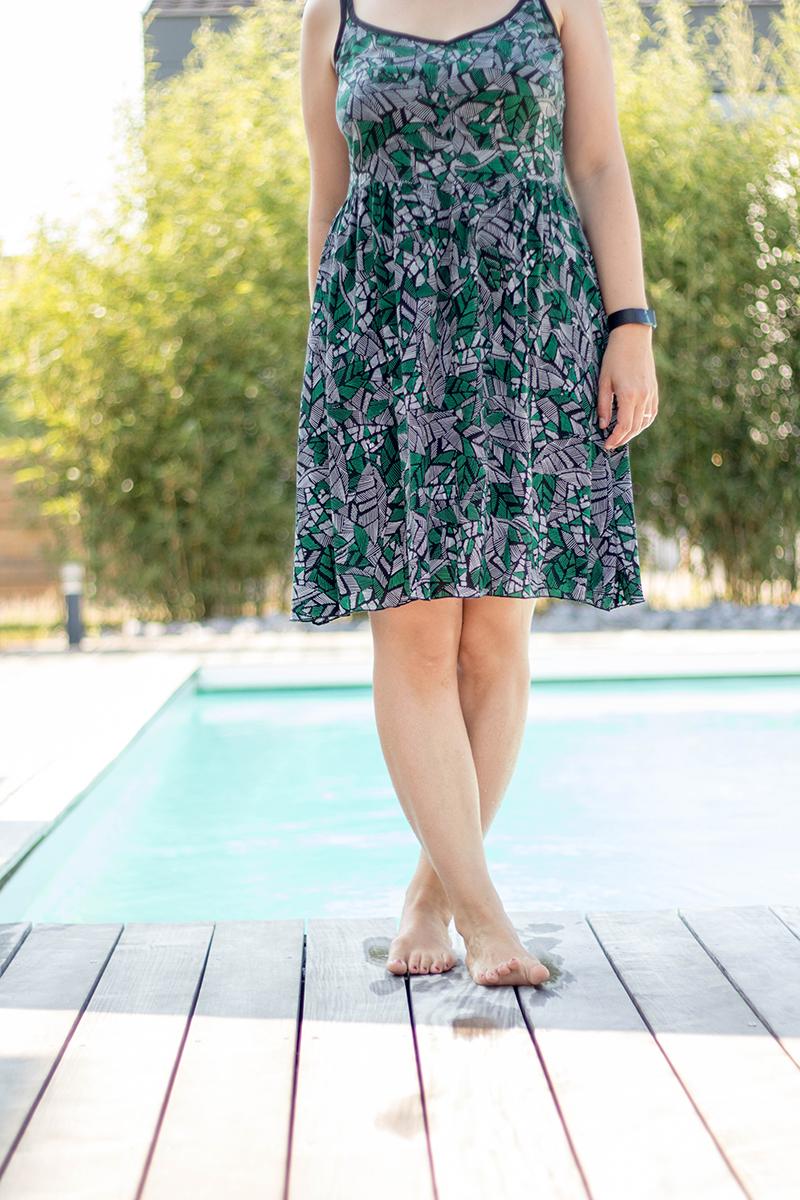 La robe parfaite pour l'été : centaurée de Deer and Doe - Avril sur un fil