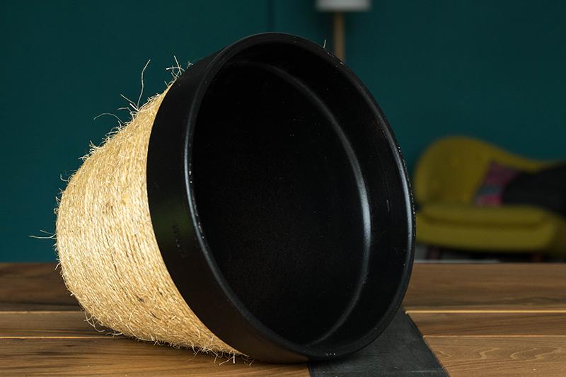 DIY : cache pot en corde - Avril sur un fil