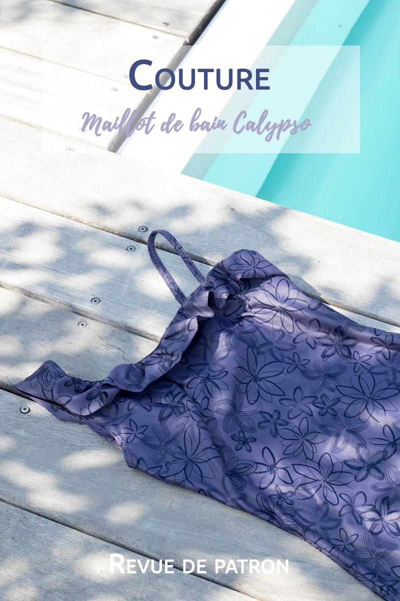 Revue de patron : le maillot de bain Calypso d'étoffe malicieuse - Avril sur un fil