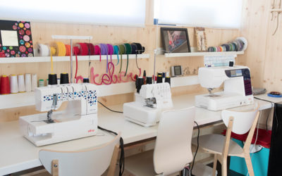 Atelier tour : Viens, on visite mon atelier couture & DIY!