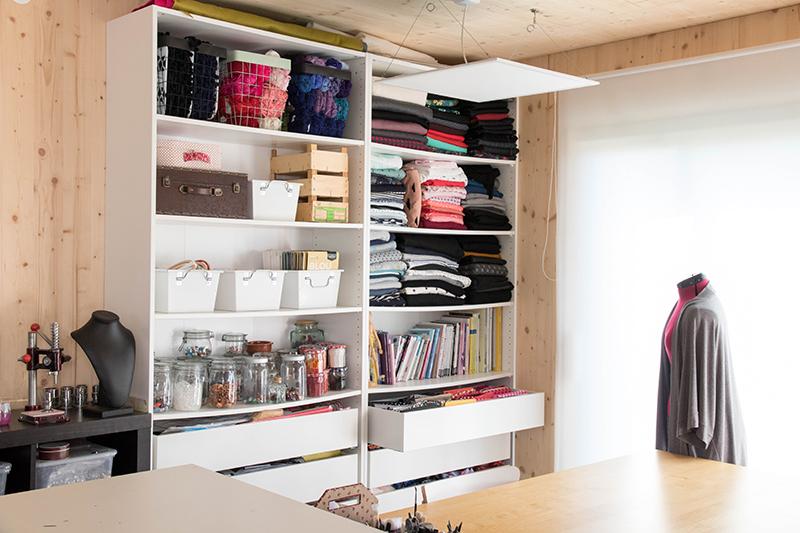 Atelier tour : visite de mon atelier couture et DIY en Alsace
