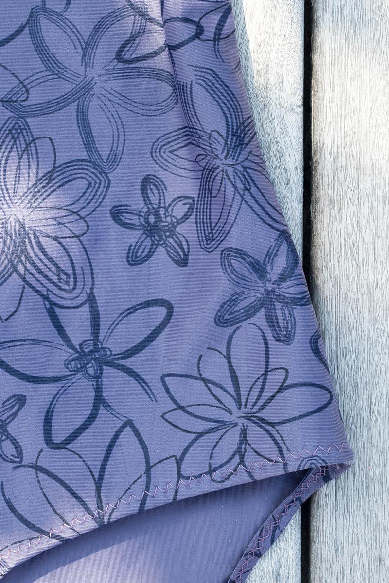 Maillot de bain calypso, pose de l'élastique - Avril sur un fil