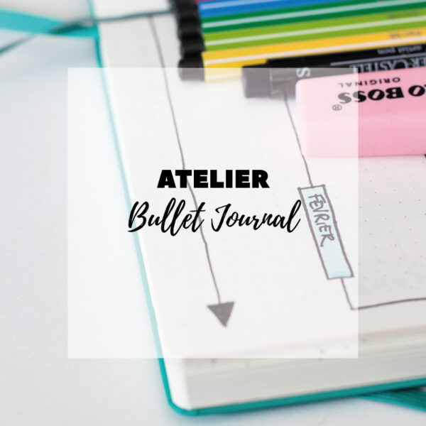 Atelier Bullet Journal à Wiwersheim - Avril sur un fil