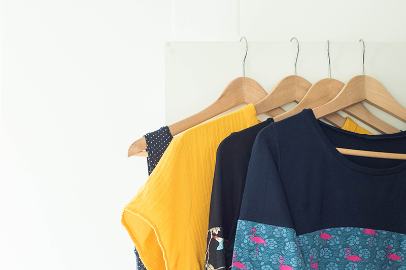 Ma garde-robe capsule cousue main - Avril sur un fil