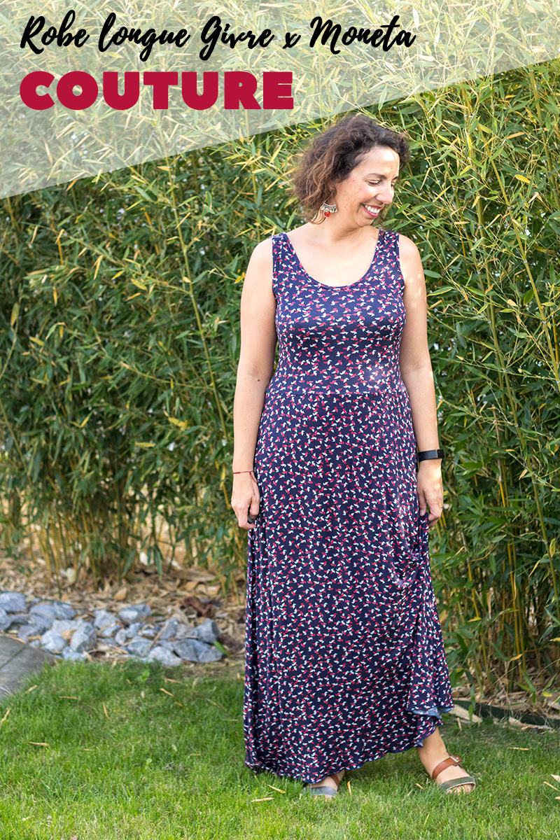 Pattern hack : Robe longue Givre x Moneta - Avril sur un fil
