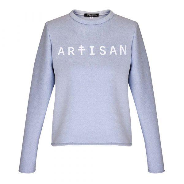Idées cadeaux pour un noël plus éthique : Sweat Artisan Carrousel Clothing