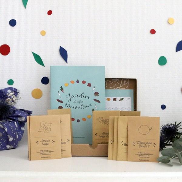 IDées cadeau de Noël : box à planter