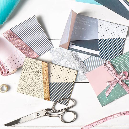 Idées cadeaux pour un noël plus éthique : carte cadeau tissus